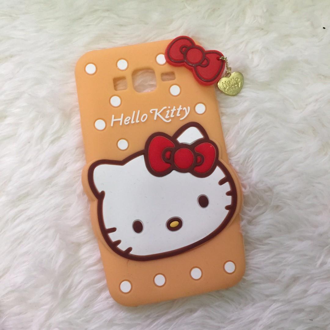 Hello Kitty Silicon Case for Samsung J7
