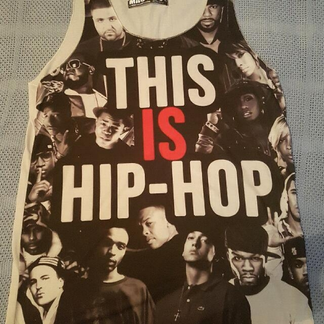 Hip Hop Singlet Size L