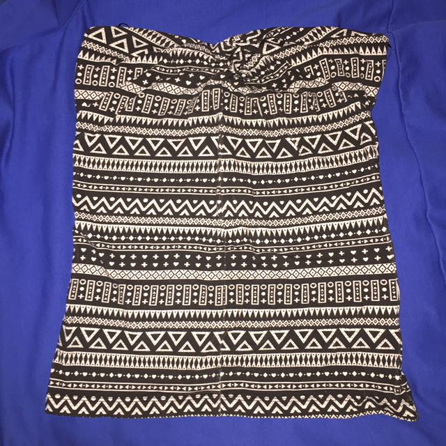 H&M Aztec tube top