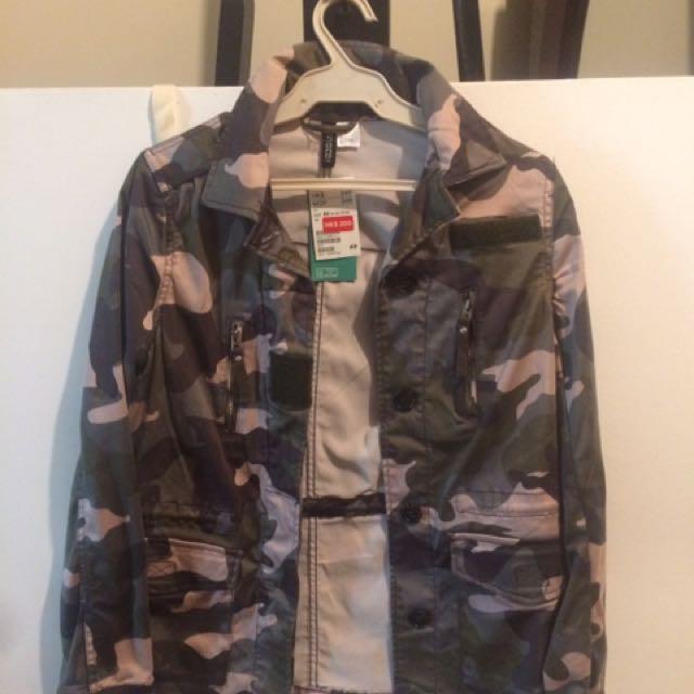H&M Camo Jacket