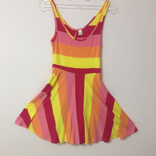 HnM Summer Rainbow Dress