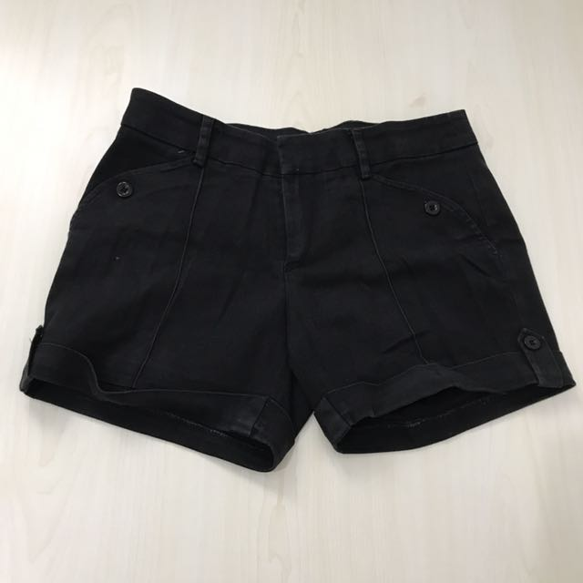 Hot pants Hitam