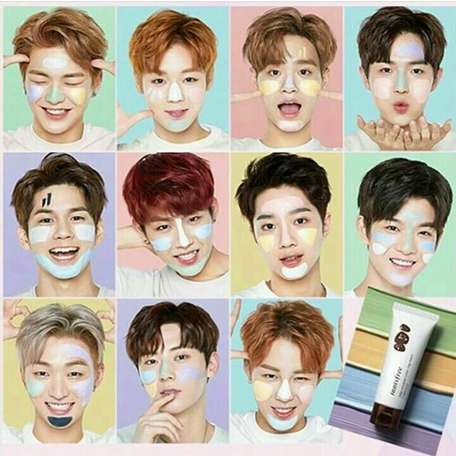 innisfree by wannaone. INNISFREE JEJU VOLCANIC COLOR CLAY MASK