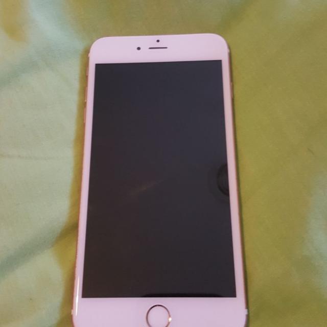 iPhone 6s plus 128GB rose gold!