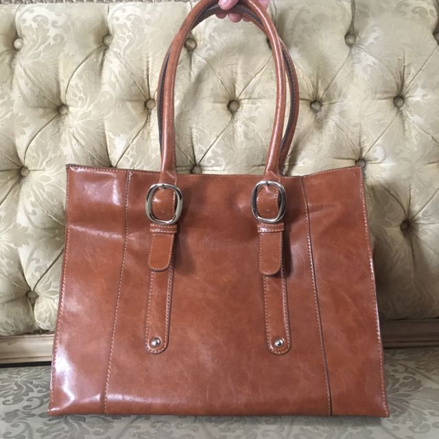 Kate & Kelly Leather Bag