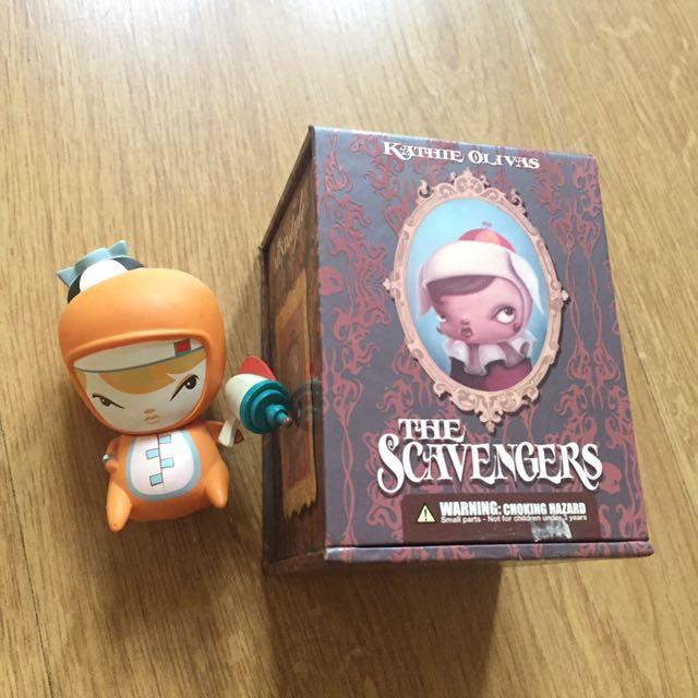 Kathie Olivas' Scavengers Mini Figures Series 2: Cosmic Pennie