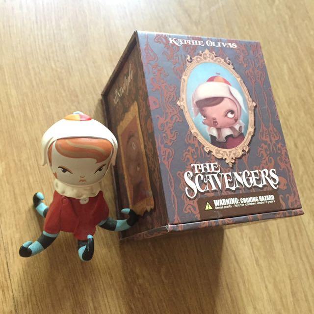 Kathie Olivas' Scavengers Mini Figures Series 2: Ellie