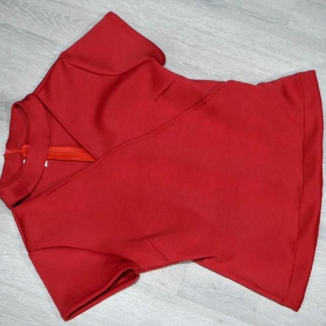 Kimono Red Blouse
