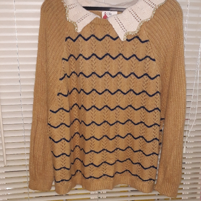 Korean  Knit Sweater