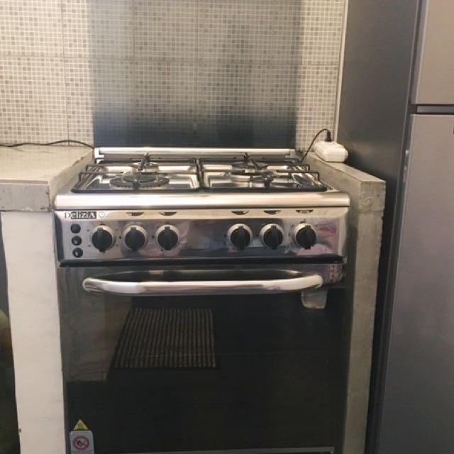Kompor Oven Standing Delizia 60 Kitchen Appliances On Carousell