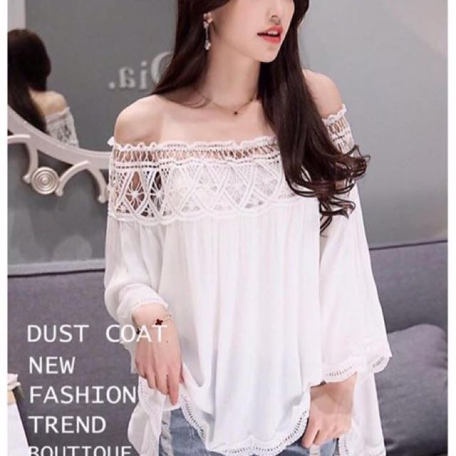 Lace White Off Shoulder