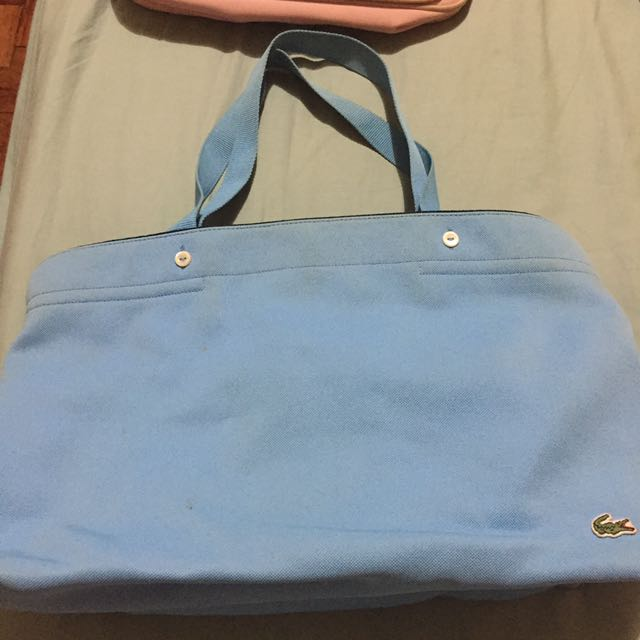 7a192331e57 Lacoste Pique Bag Sky Blue, Women's Fashion, Bags & Wallets on Carousell