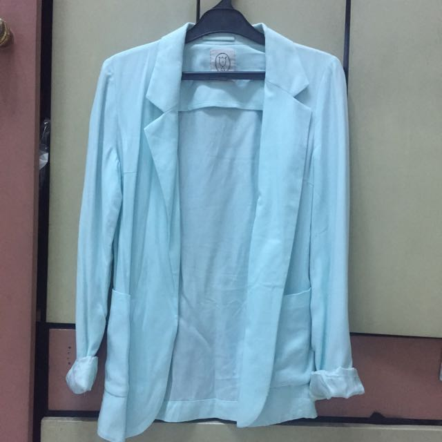 Light green blazer