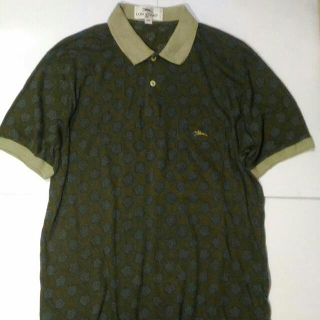 LONGCHAMP PARIS Men's Casual Polo Shirt Original