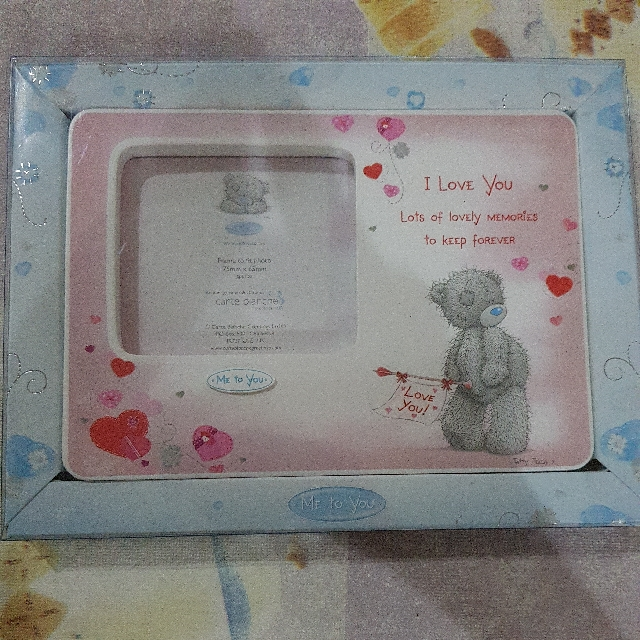 Me To You Photo Frame, Everything Else on Carousell