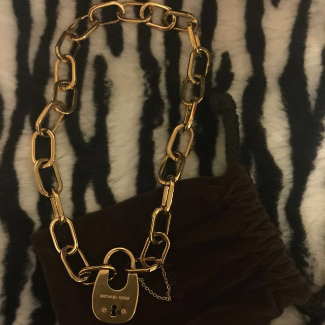 Michael Kors Gold Necklace (PRICE JUST DROPPED)