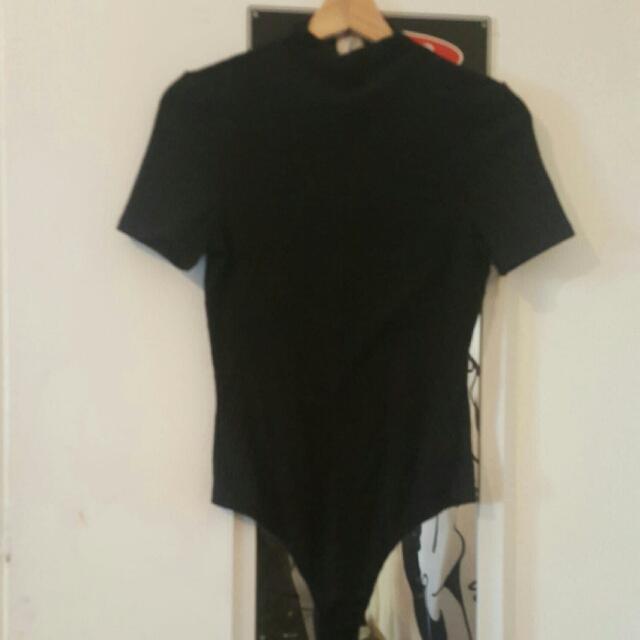 Minkpink Highneck Bodysuit Size S