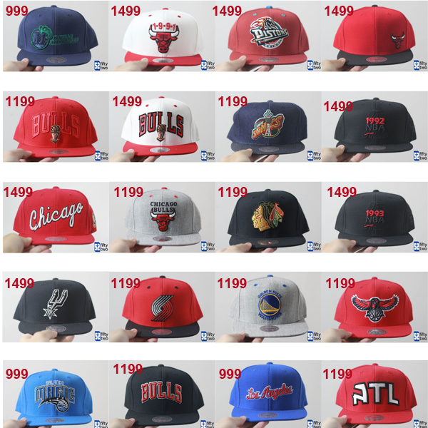 Mitchell and Ness snapback caps