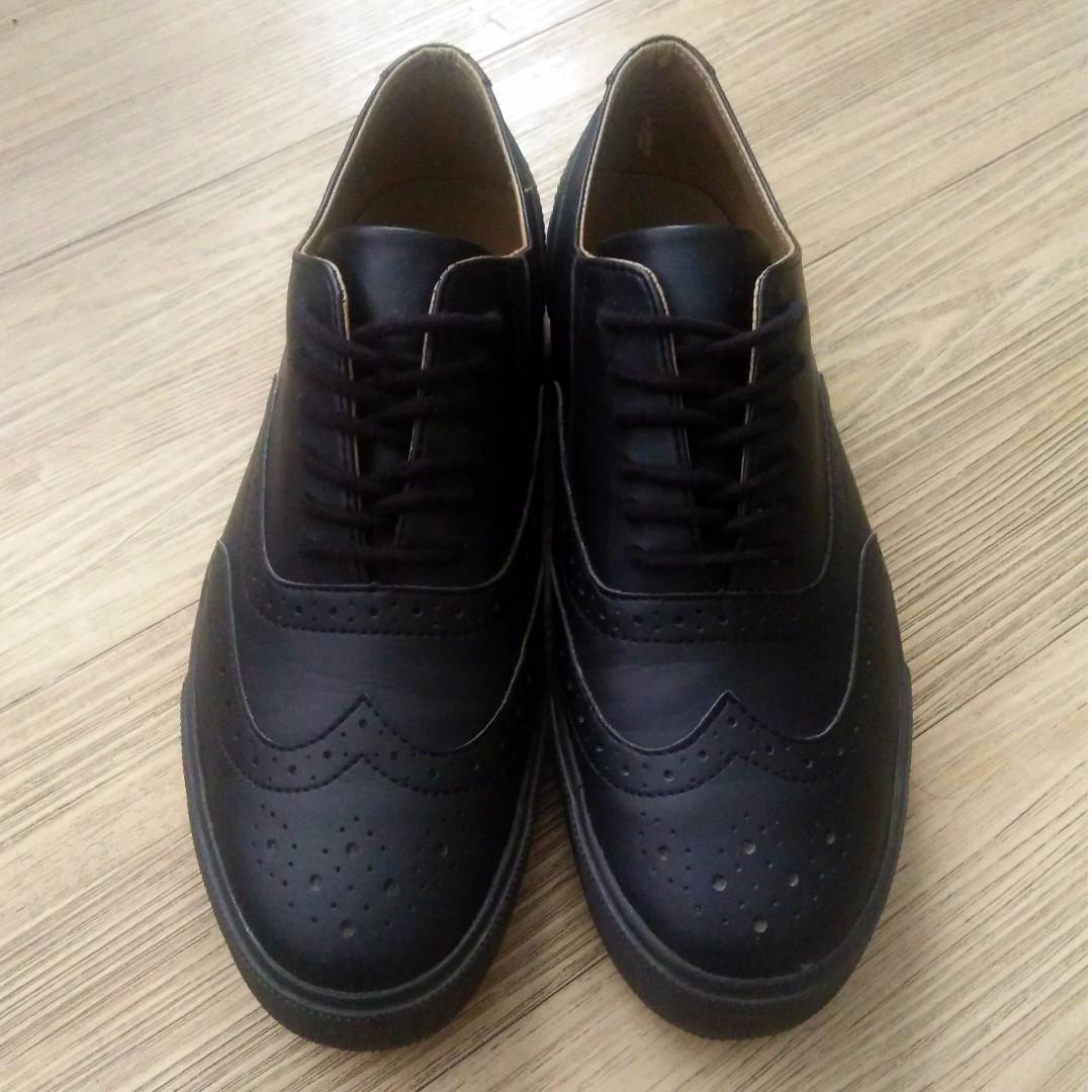 Muji Wingtip Sneakers