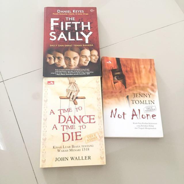Mystery / Thriller Novels