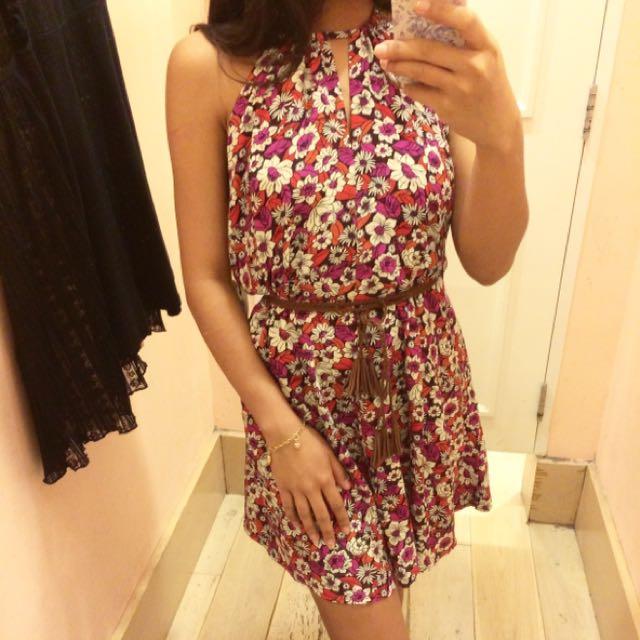 (NEW) (SALE) F21 Floral Dress