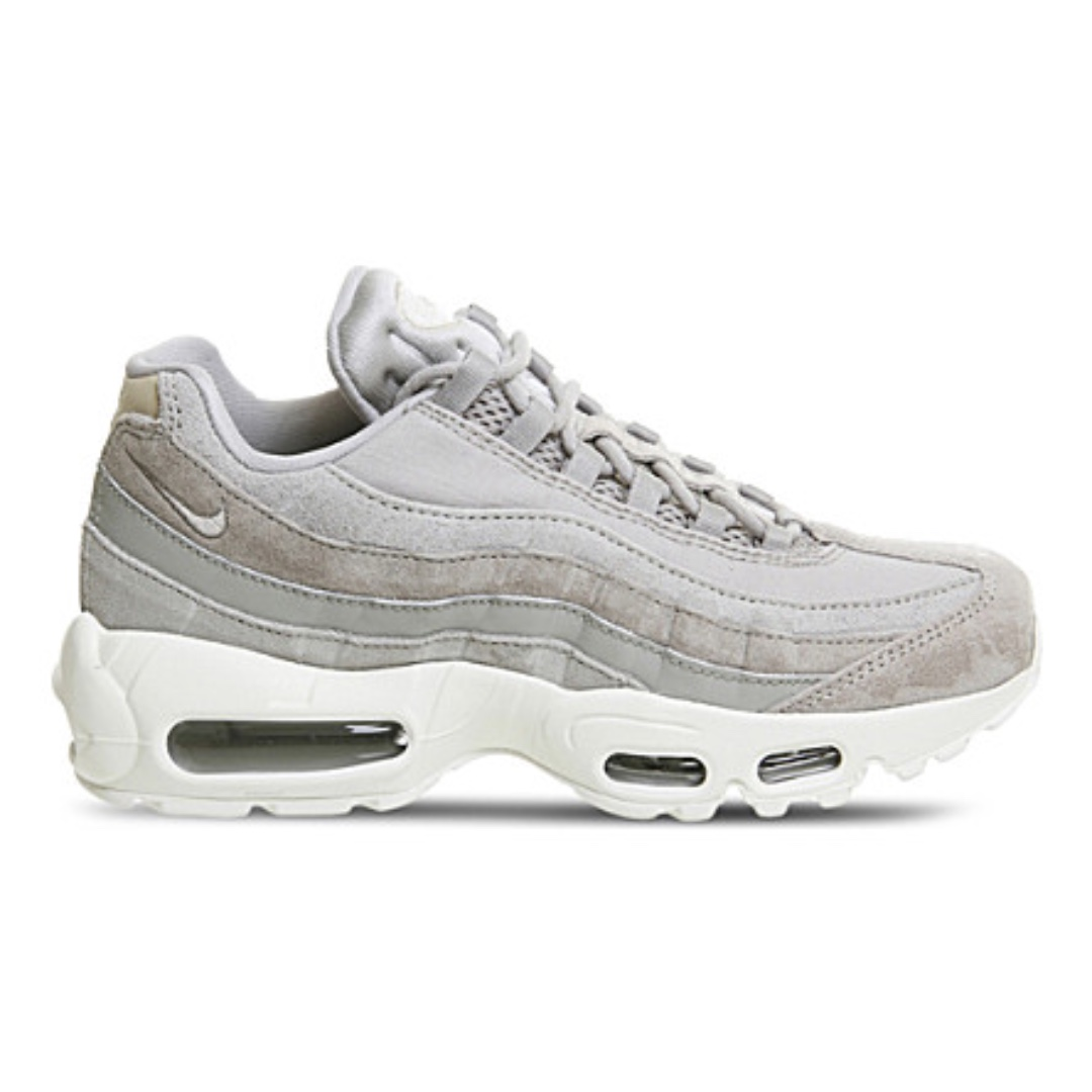 NIKE Air Max 95 leather trainers 灰