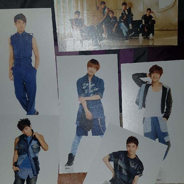 [OFFICIAL] SHINee's DAZZLING GIRL Photocards
