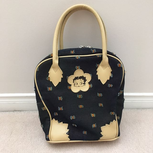 Original Betty Boop Denim Handbag