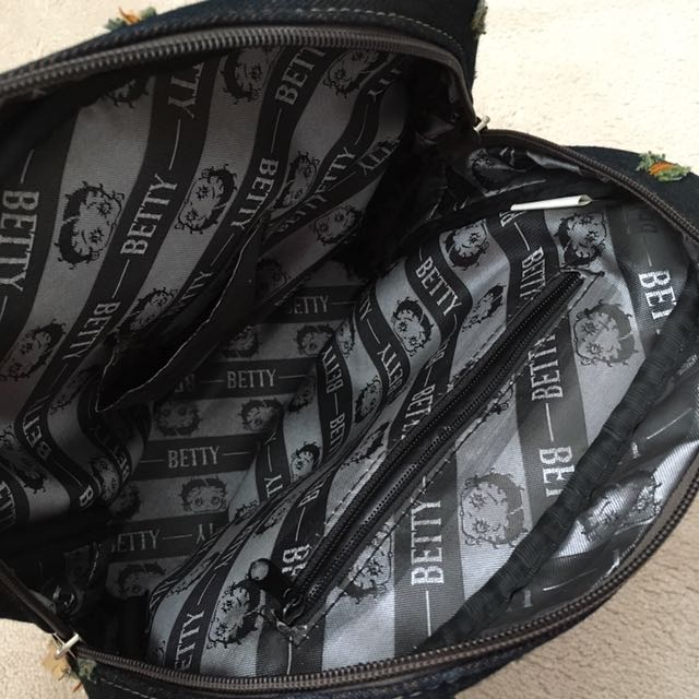 Original Betty Boop Denim Handbag