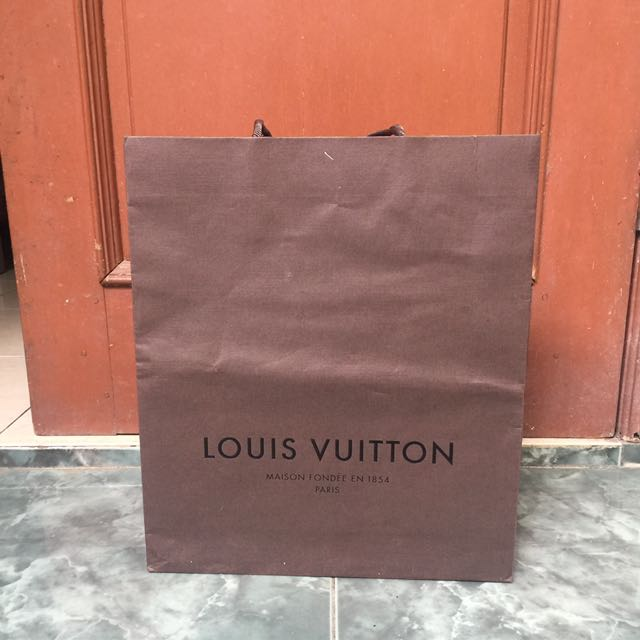 Paper Bag LV Original
