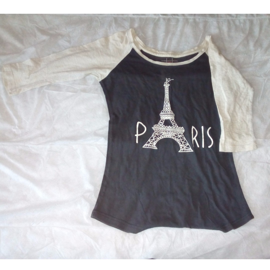 [Repriced] PARIS BASEBALL SHIRT