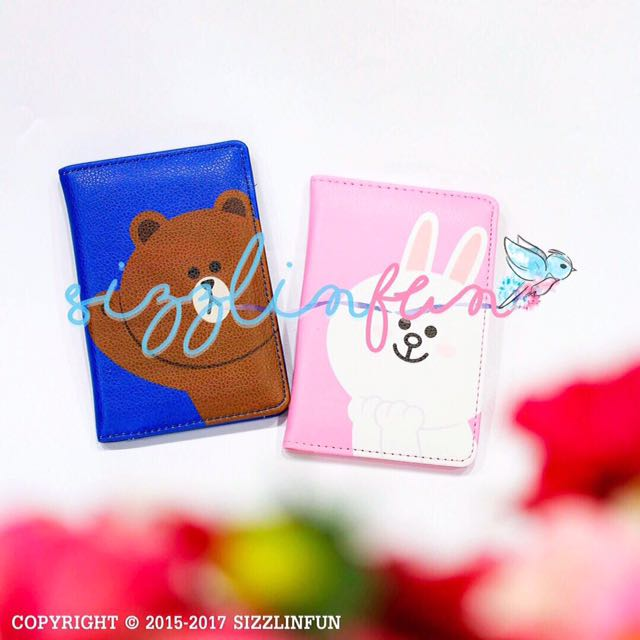 Passport Cover Brown & Cony