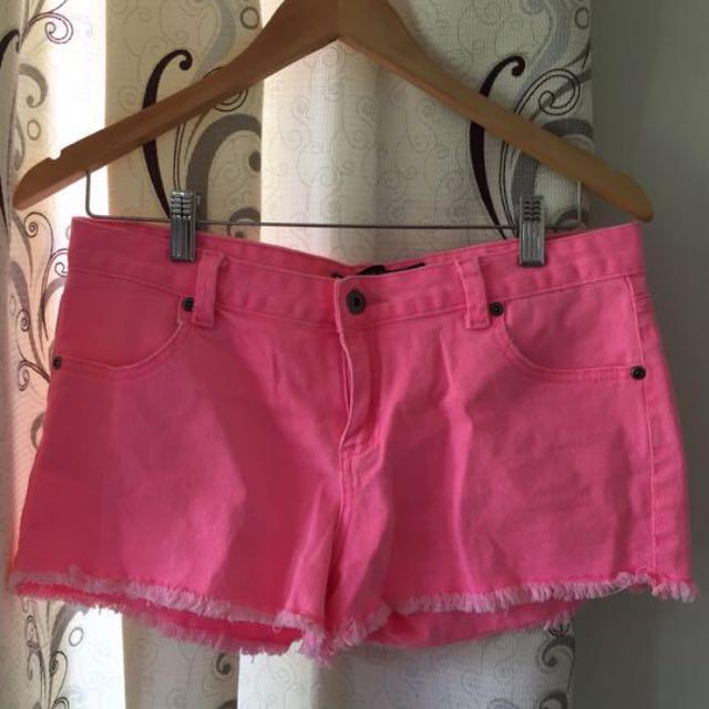 Pink denim shorts SALE 💥