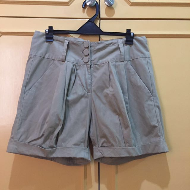 Plains and Prints R.A.F Line Khaki Shorts