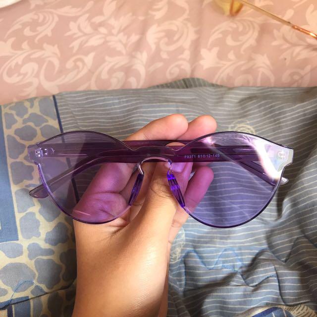 Purple Sunglass