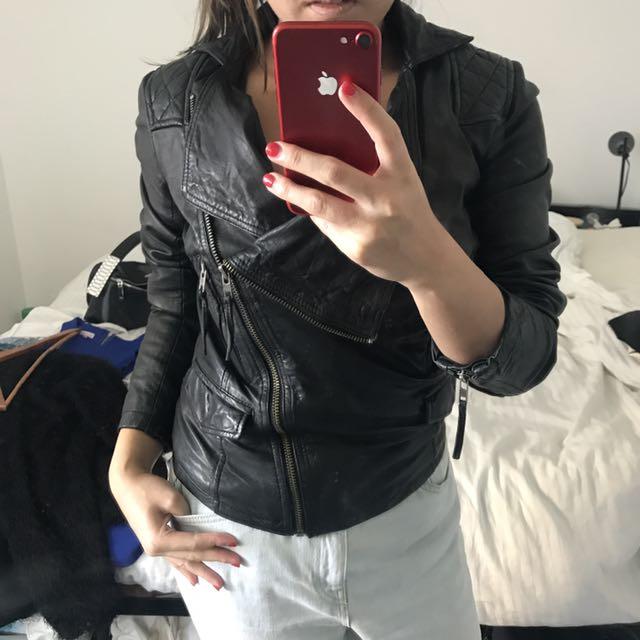 Real Genuine Leather Jacket