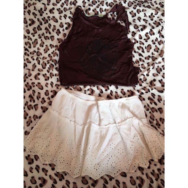 Sando & Skirt