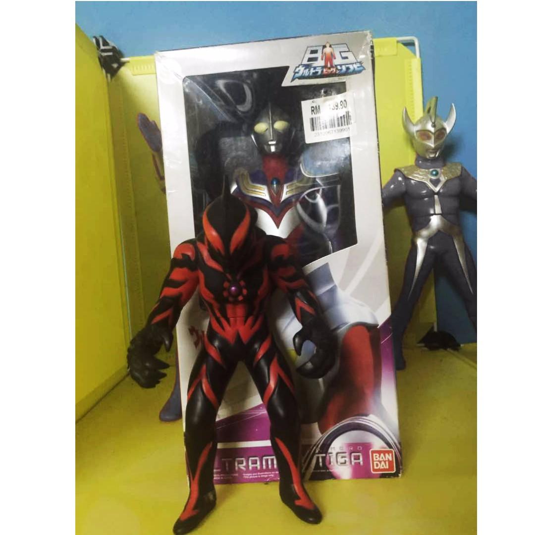 Bandai Ultra Big Soft Vinyl Ultraman Tiga Daftar Harga Terbaru Dan Sofvi Victory 0483398 Hero 018 Max Action Figure New Source