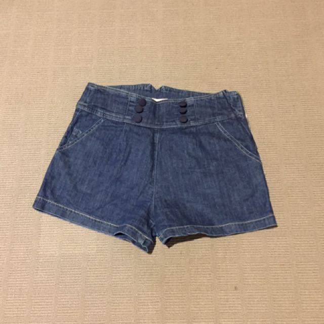 Size S Denim shorts