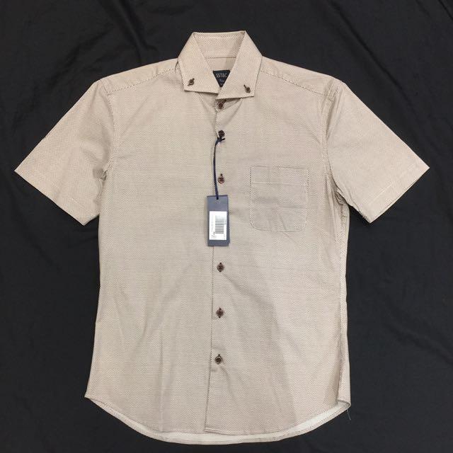 Sst&c 短袖襯衫 14.5 滿版印花
