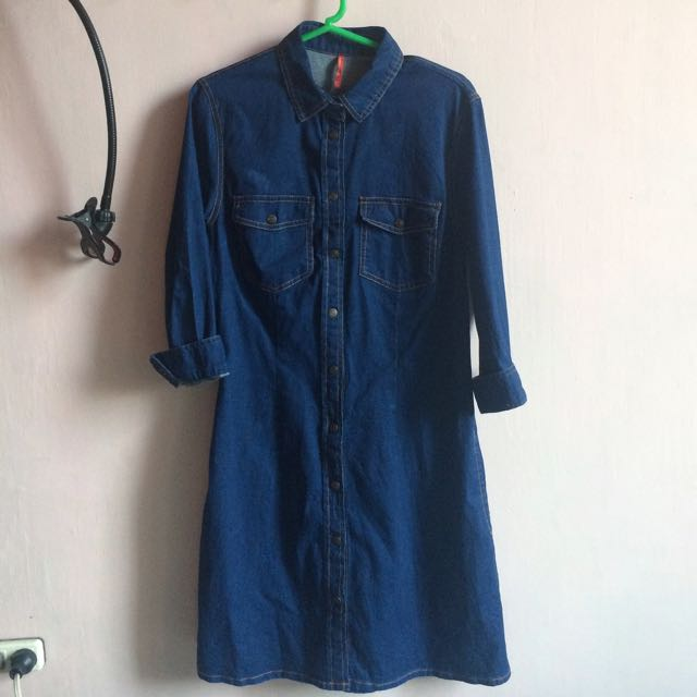 STRADIVARIUS DENIM DRESS