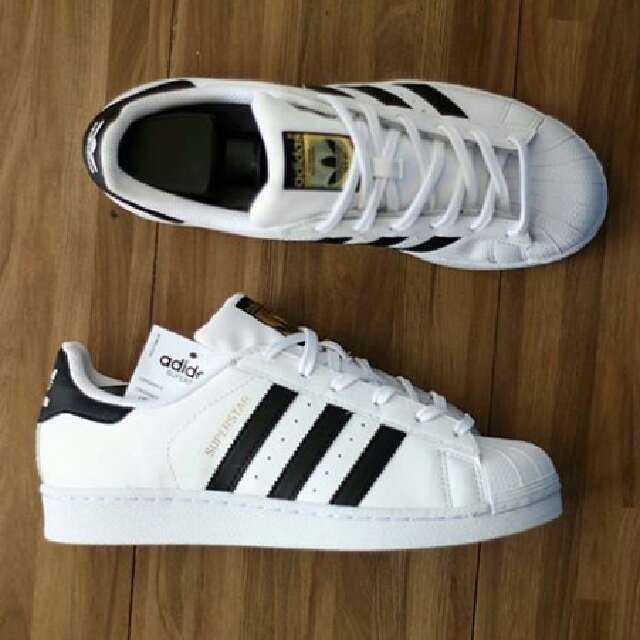 Adidas Superstar Foundation White Black