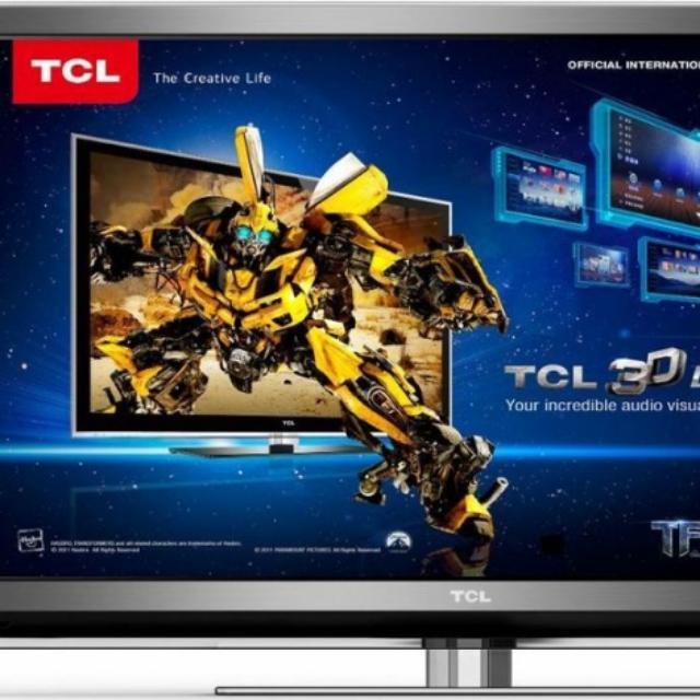 "TCL smart TV 42"" 3D Full HD LED"