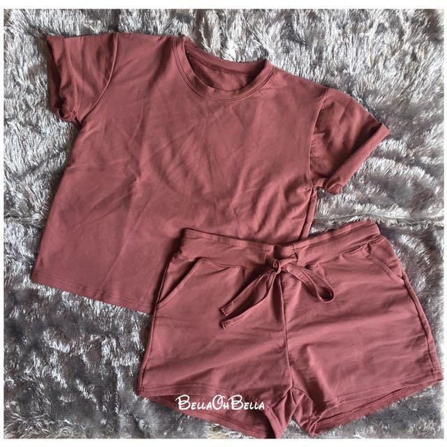 Terno (shirt and short)
