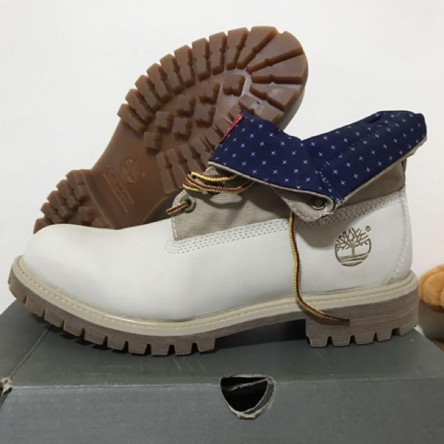 正版Timberland反折款靴