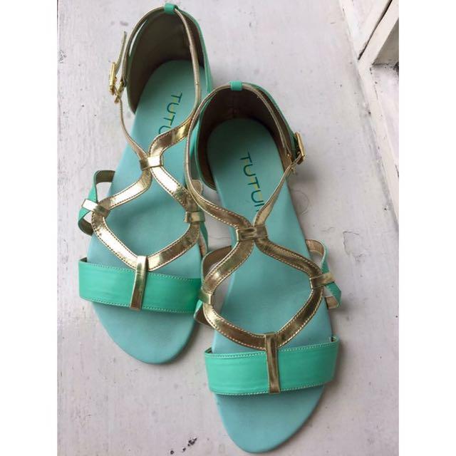 Tutum Mint Sandals