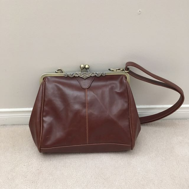 Two-Way Vintage Clasp Frame Purse