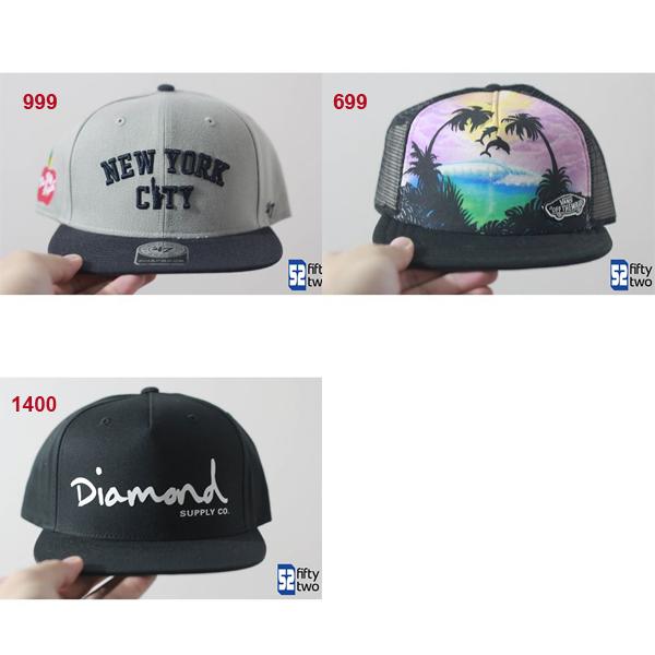 Vans/Diamond Snapback Cap