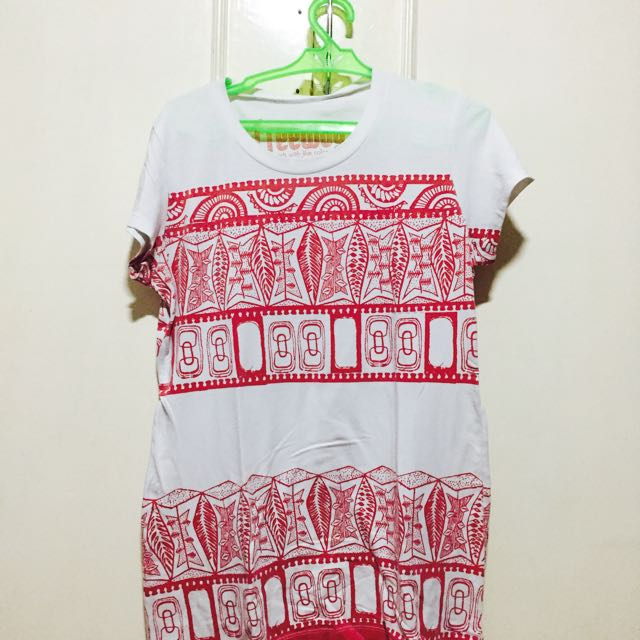 White Aztec Shirt from Freeway