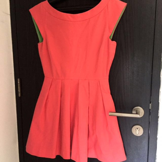 Zara cute mini pink dress
